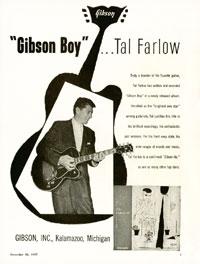 """Gibson ES-350 - """"Gibson Boy""""... Tal Farlow"""