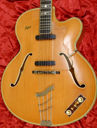 1959 Hofner Committee body detail
