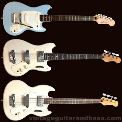 1960s Kalamazoo KB basses
