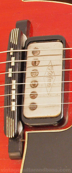 Hofner Verithin bridge pickup, and bridge