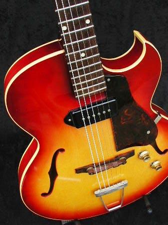 1962 Gibson ES-125TC Florentine cutaway