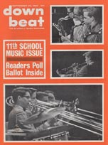 1963 Down Beat magazine - annual school music issue