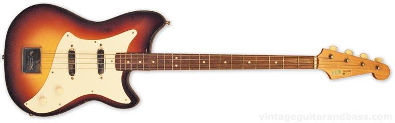 1963 Vox Bassmaster bass