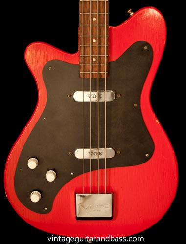 1963 Vox Clubman bass - body detail