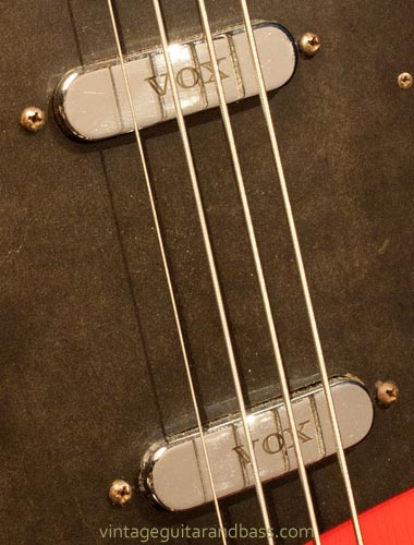 1963 Vox Clubman bass - pickup detail