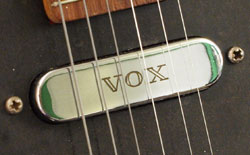 Vox V1 pickup with Vox logo