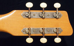 Vox Shadow reverse headstock
