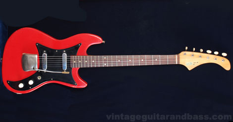 1963 Vox Ace Electric Guitar Gt Gt Vintage Guitar And Bass