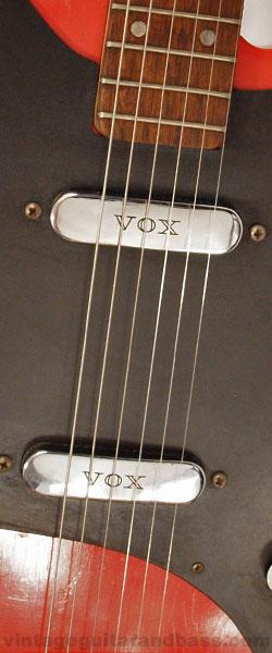 Vox Clubman V1 pickups