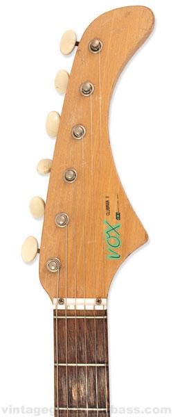 Vox Clubman headstock