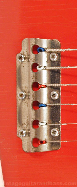 Vox Clubman tailpiece, detailed view