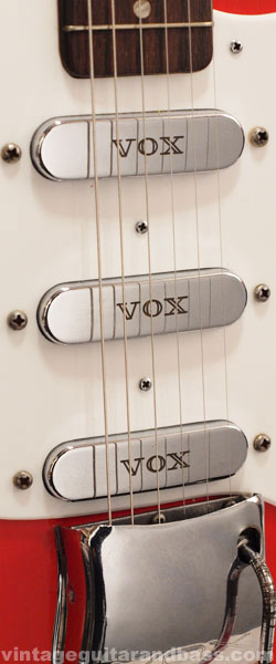 Vox V1 pickup closeup