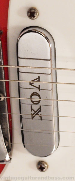 Vox V1 single coil pickup detail
