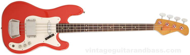 1963 Vox Symphonic bass