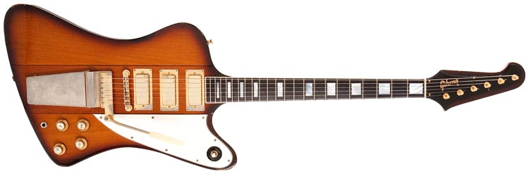 1964 Gibson Firebird VII in Sunburst finish