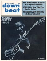 1964 Down Beat magazine - annual guitar issue - Wes Montgomery cover