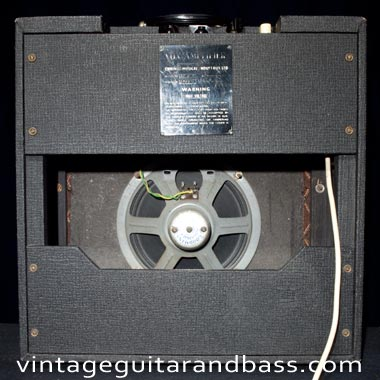 1964 Vox AC4 back view