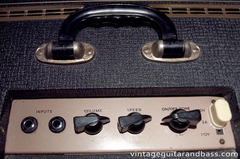 1964 Vox AC4 controls