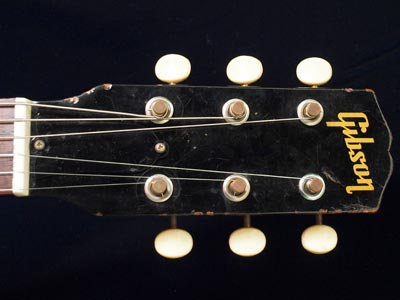 Gibson Melody Maker headstock detail