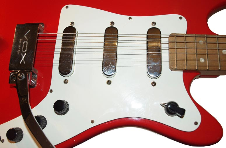 1964 Vox Shadow - pickups and controls
