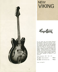 Hagstrom Viking from the 1964 Selmer catalogue