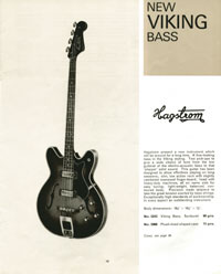 Hagstrom Concord from the 1964 Selmer catalogue