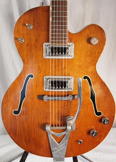 1965 Gretsch Tennessean body detail