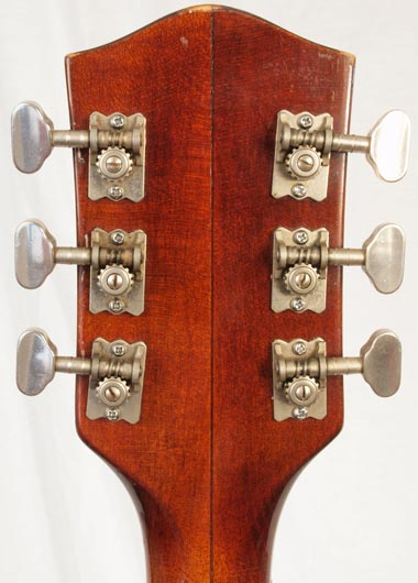 1965 Gretsch Tennessean reverse headstock detail