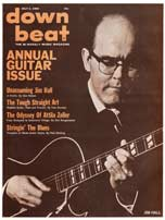 1965 Down Beat magazine - annual guitar issue - Jim Hall cover