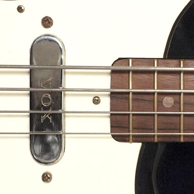 1965 Vox Bassmaster bass - pickup detail