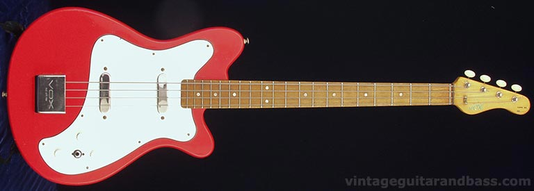1965 Vox Clubman bass - front view