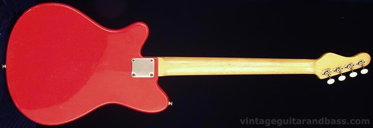 1965 Vox Clubman bass - reverse view