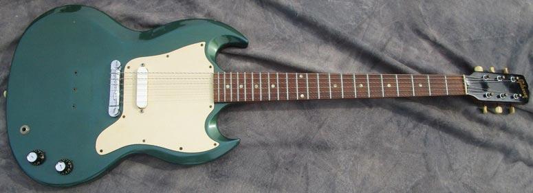 1966 Gibson Melody Maker, Pelham blue