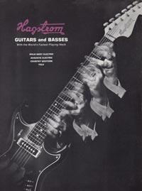 1966 Hagstrom guitar catalog cover