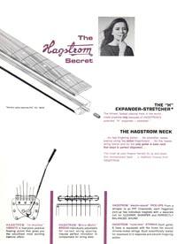 1966 Hagstrom guitar catalog page 2