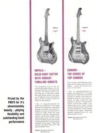 1966 Hagstrom guitar catalog page 4