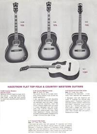 1966 Hagstrom guitar catalog page 6