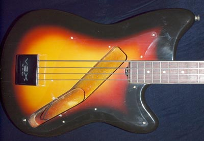 1966 Vox Panther bass body