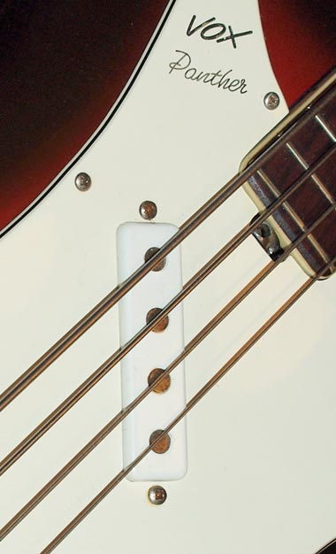 Vox Panther bass four-pole pickup