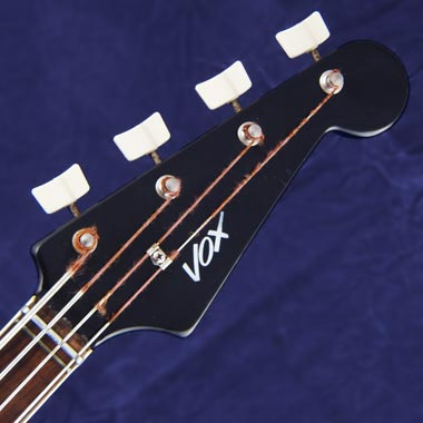 Vox Panther bass headstock detail