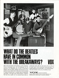 Vox Mark VI V222 - What do the Beatles have in common with the Breakaways?