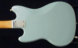 Kalamazoo KG2 guitar - reverse body detail