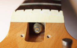 Kalamazoo KG2A truss rod detail