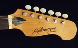 Kalamazoo KG2A guitar headstock