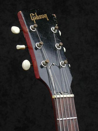 1966 Gibson ES-125 TC headstock front
