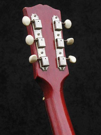 1966 Gibson ES-125 TC headstock rear