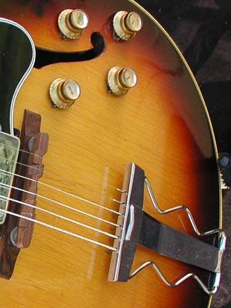 1966 Gibson ES-175D tailpiece
