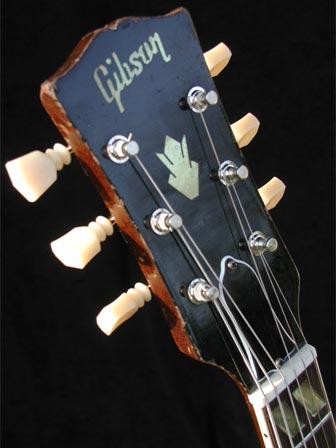1966 Gibson ES-175D headstock