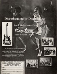 Hagstrom Corvette - Discothequing or disc-cutting. You