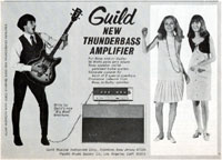 Guild Starfire - New Thunderbass amplifier